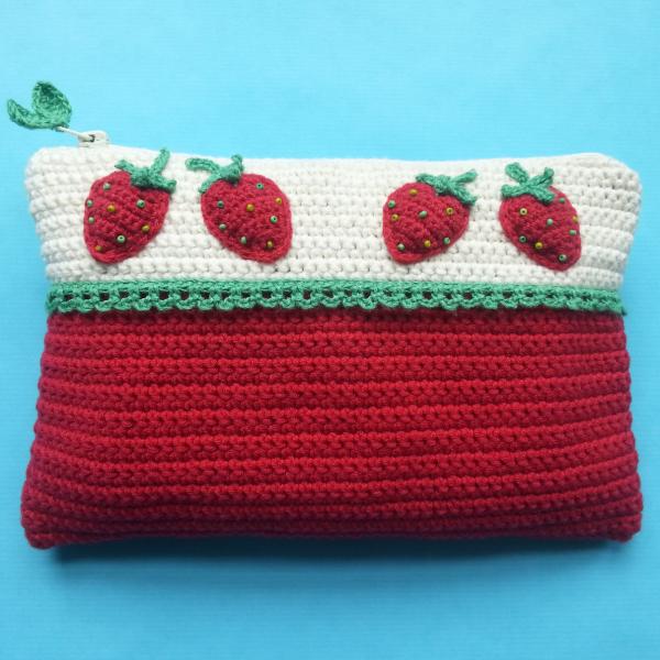 Erdbeer-Täschchen