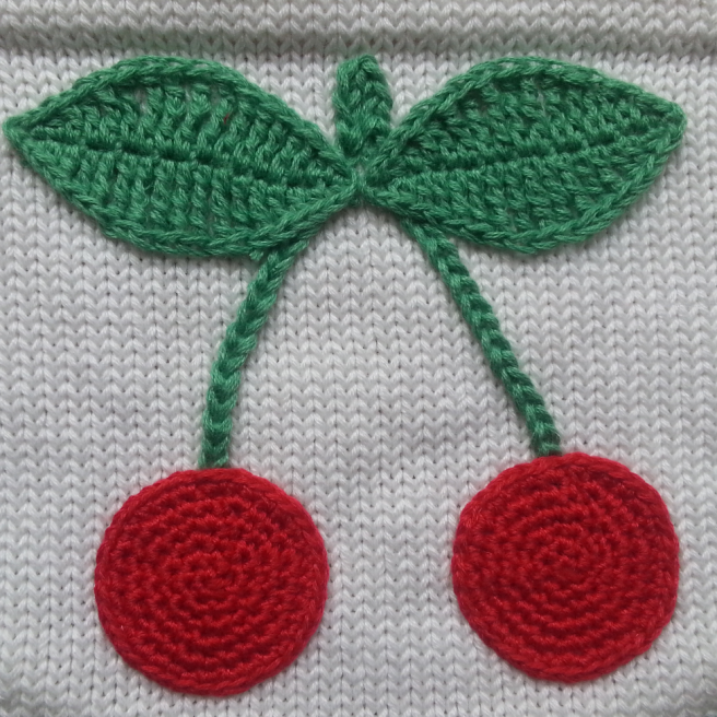 Große Kirsche juicy cherries