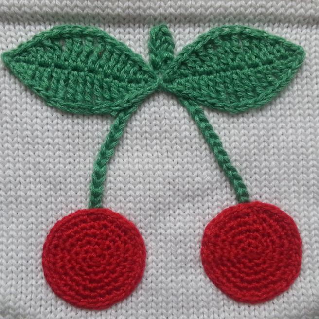 Große Kirsche juicy cherries