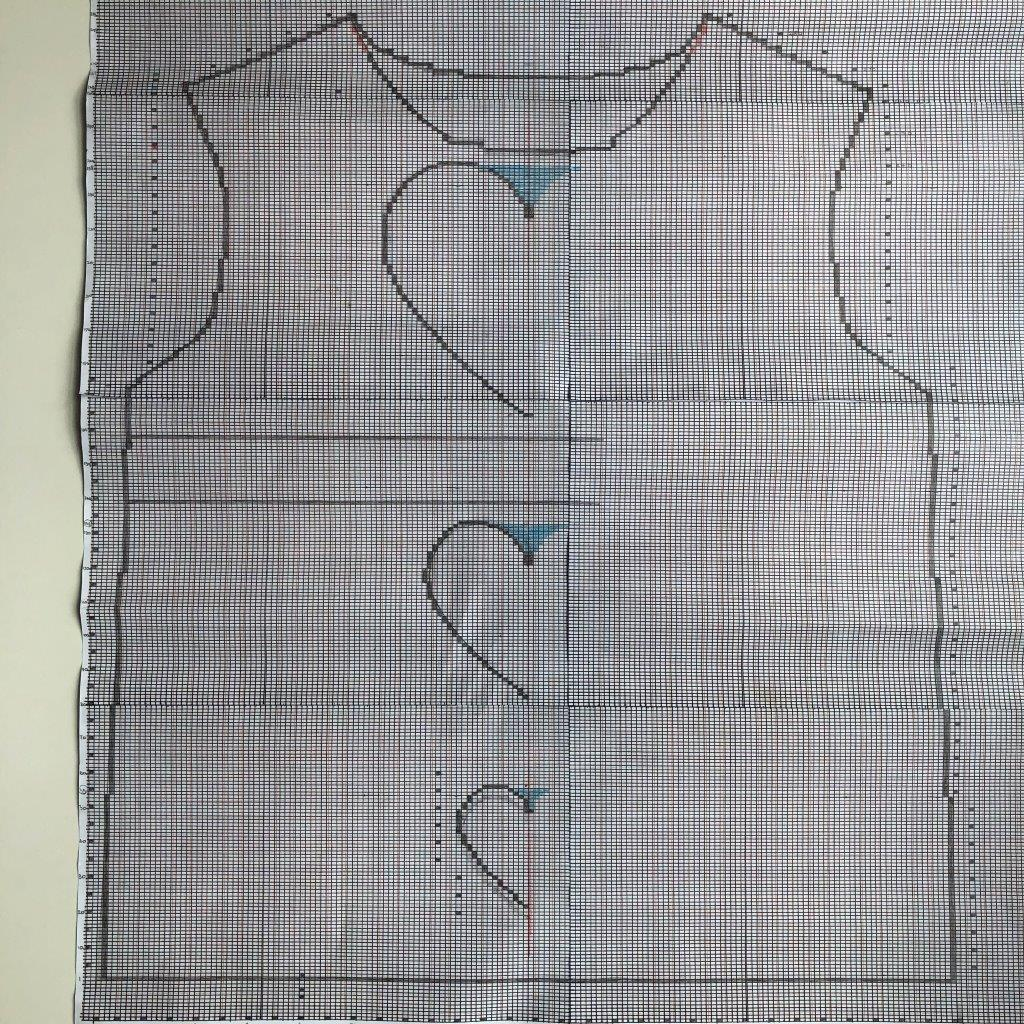 Schnitt Herzpulli