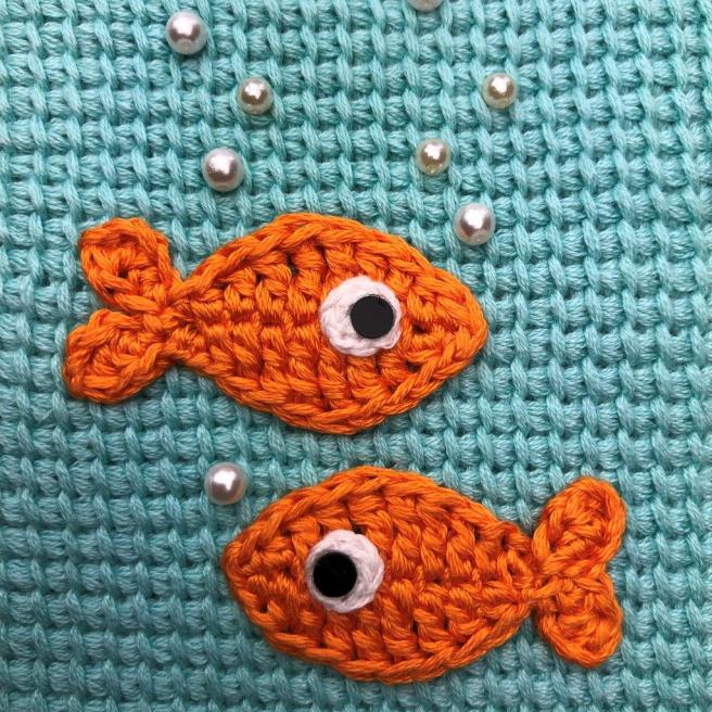 Fische auf türkis